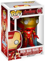 Figurine Funko Pop Avengers : L'Ère d'Ultron [Marvel] #66 Iron Man
