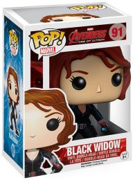 Figurine Funko Pop Avengers : L'Ère d'Ultron [Marvel] #91 Black Widow