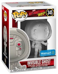 Figurine Funko Pop Ant-Man et la Guêpe [Marvel] #345 Fantôme - Invisible