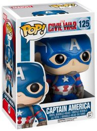 Figurine Funko Pop Captain America : Civil War [Marvel] #125 Captain America