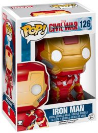 Figurine Funko Pop Captain America : Civil War [Marvel] #126 Iron Man