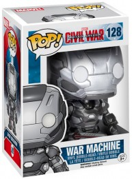 Figurine Funko Pop Captain America : Civil War [Marvel] #128 War Machine