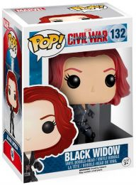 Figurine Funko Pop Captain America : Civil War [Marvel] #132 Black Widow