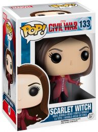 Figurine Funko Pop Captain America : Civil War [Marvel] #133 Wanda Maximoff