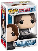 Figurine Funko Pop Captain America : Civil War [Marvel] #129 Soldat de l'Hiver