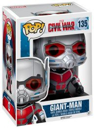 Figurine Funko Pop Captain America : Civil War [Marvel] #135 Giant-Man - 15 cm