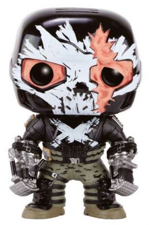 Figurine Funko Pop Captain America : Civil War [Marvel] #140 Crossbones - Dommages de combat