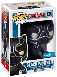 Figurine Funko Pop Captain America : Civil War [Marvel] #130 Black Panther - Onyx Brillant