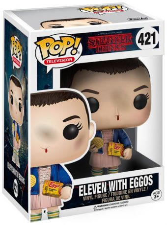 Figurine Funko Pop Stranger Things #421 Onze avec Eggos