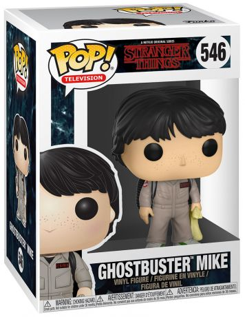 Figurine Funko Pop Stranger Things #546 Ghostbuster Mike