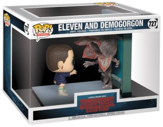 Figurine Funko Pop Stranger Things #727 Onze et Démogorgon