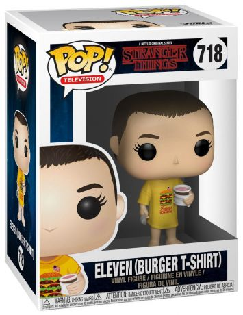 Figurine Funko Pop Stranger Things #718 Onze - T-shirt Burger
