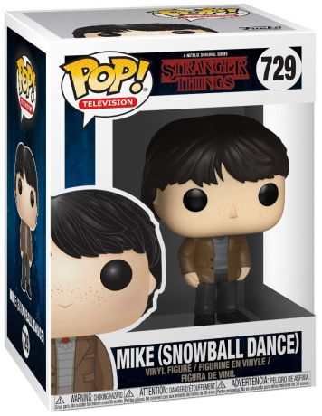 Figurine Funko Pop Stranger Things #729 Mike - Snowball Dance