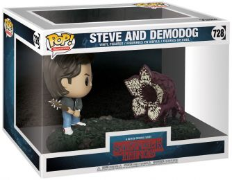 Figurine Funko Pop Stranger Things #728 Steve contre Demodog