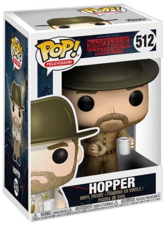 Figurine Funko Pop Stranger Things #512 Hopper