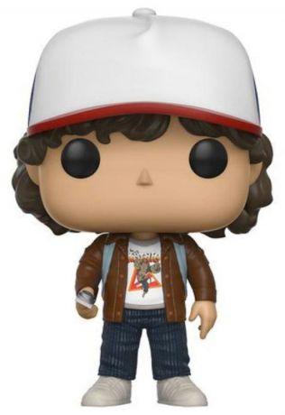Figurine Funko Pop Stranger Things #424 Dustin - Veste Marron