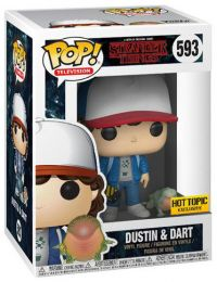 Figurine Funko Pop Stranger Things #593 Dustin et Dart