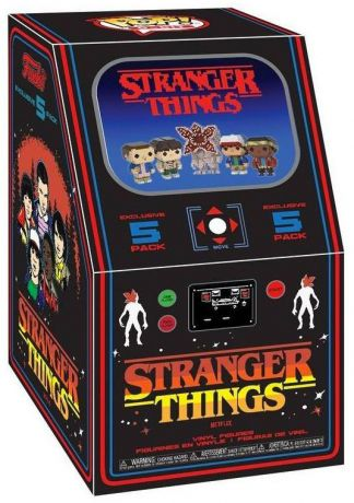 Figurine Funko Pop Stranger Things #00 Arcade Box 8-Bit - 5 Pack