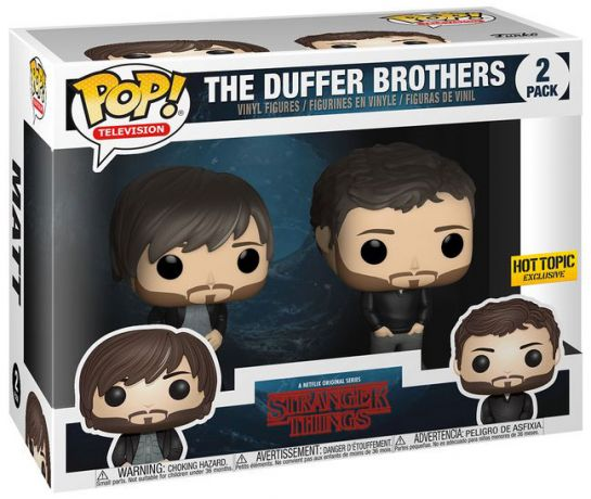 Figurine Funko Pop Stranger Things #00 Les Frères Duffer - 2 Pack