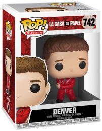 Figurine Funko Pop La Casa de Papel #742 Denver