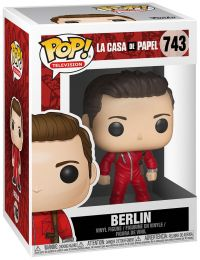 Figurine Funko Pop La Casa de Papel #743 Berlin