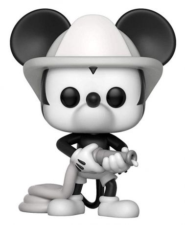 Figurine Funko Pop Mickey Mouse - 90 Ans [Disney] #427 Mickey Sapeur Pompier