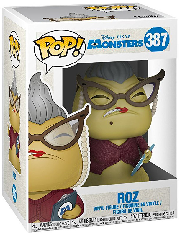 Figurine Funko Pop Monstres Et Compagnie Disney 387 Germaine