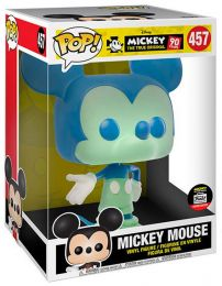Figurine Funko Pop Mickey Mouse - 90 Ans [Disney] #457 Mickey Mouse - Bleu et Vert - 25 cm