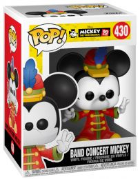 Figurine Funko Pop Mickey Mouse - 90 Ans [Disney] #430 Mickey - La Fanfare