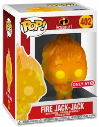 Figurine Funko Pop Les Indestructibles 2 [Disney] #402 Jack-Jack en feu