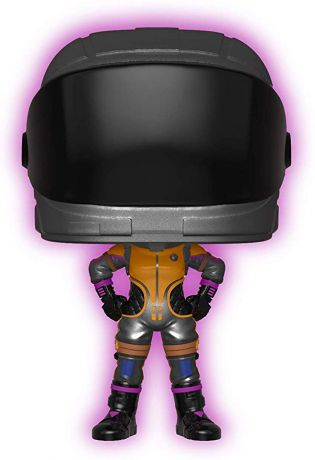 Figurine Funko Pop Fortnite #464 Dark Vanguard - Brille dans le Noir