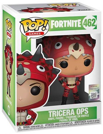 Figurine Funko Pop Fortnite #462 Tricera Ops