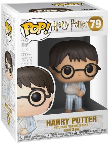 Figurine Funko Pop Harry Potter #79 Harry Potter en Pyjama - Bras Cassé