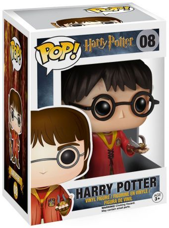 Figurine Funko Pop Harry Potter #08 Harry Potter - Quidditch