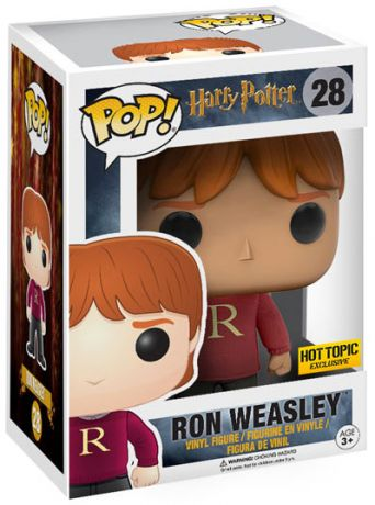 Figurine Funko Pop Harry Potter #28 Ron Weasley avec Pull