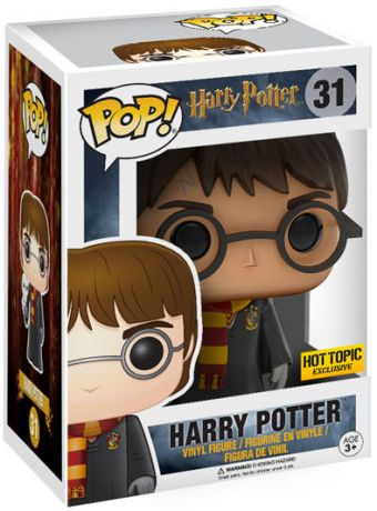 Figurine Funko Pop Harry Potter #31 Harry Potter avec Hedwige