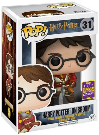 Figurine Funko Pop Harry Potter #31 Harry Potter sur son Balai