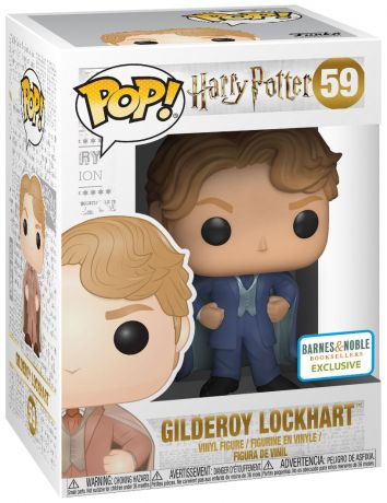 Figurine Funko Pop Harry Potter #59 Gilderoy Lockhart - Costume Bleu