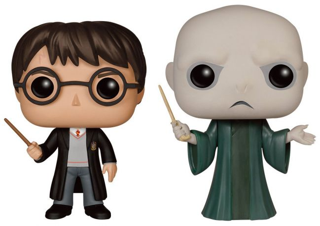 Figurine Funko Pop Harry Potter #00 Harry Potter & Lord Voldemort - 2 Pack
