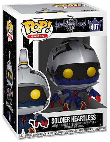 Figurine Funko Pop Kingdom Hearts #407 Soldat Sans-coeur