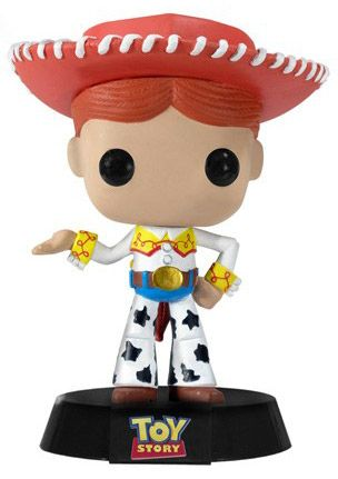 Figurine Funko Pop Disney premières éditions [Disney] #19 Jessie - Bobble Head