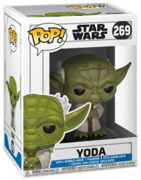 Figurine Funko Pop Star Wars : The Clone Wars #269 Yoda