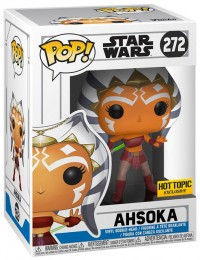 Figurine Funko Pop Star Wars : The Clone Wars #272 Ahsoka - En Action
