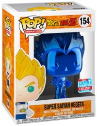 Figurine Pop Dragon Ball #154 Super Saiyan Vegeta - Chromé Bleu / Dragon Ball Z pas chère