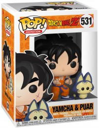 Figurine Pop Dragon Ball #531 Yamcha et Plume / Dragon Ball Z pas chère