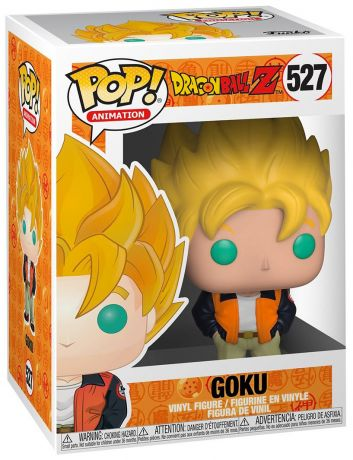 Figurine Funko Pop Dragon Ball #527 Goku - Décontracté (DBZ)