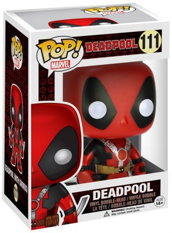 Figurine Funko Pop Deadpool [Marvel] #111 Deadpool - Avec deux épées