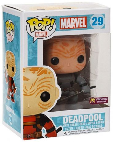Figurine Funko Pop Deadpool [Marvel] #29 Deadpool - X-Force - Sans masque