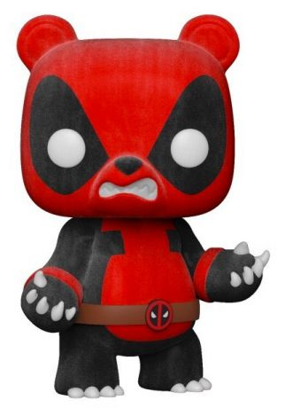Figurine Funko Pop Deadpool [Marvel] #328 Pandapool - Flocké [Chase]