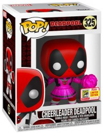 Figurine Funko Pop Deadpool [Marvel] #325 Deadpool Pom-Pom Girl - Paillettes roses